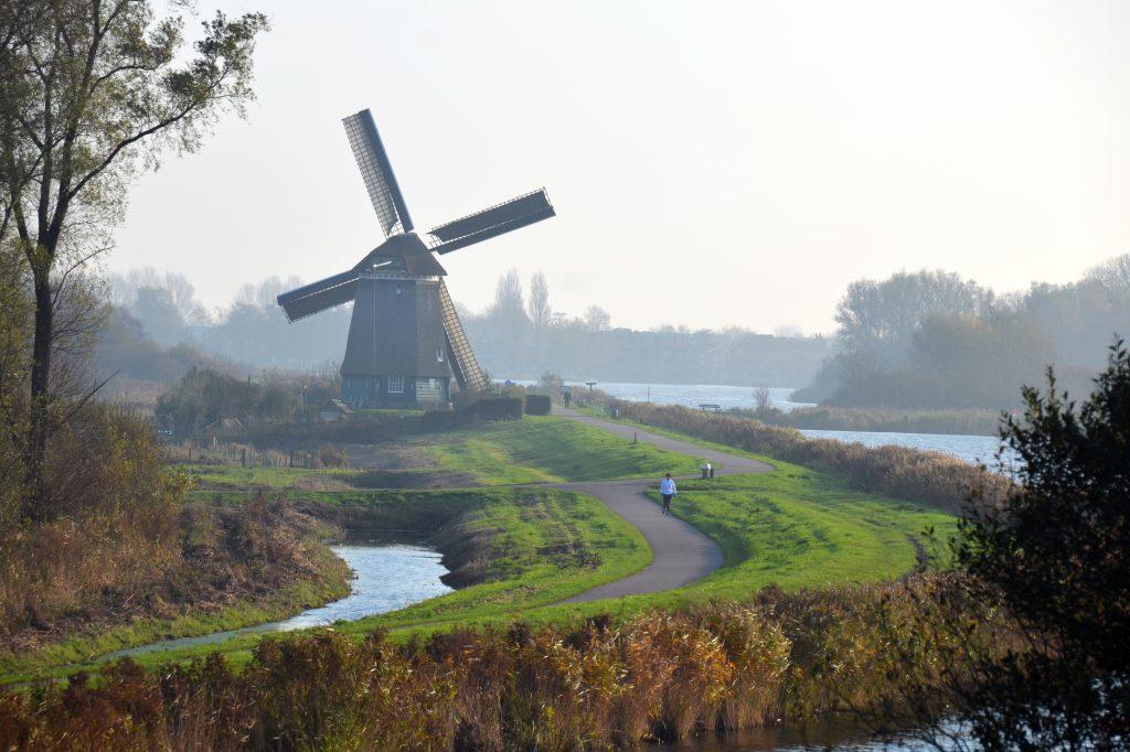 'T Twiske is een prachtig gebied om te verkennen op de step in Amsterdam
