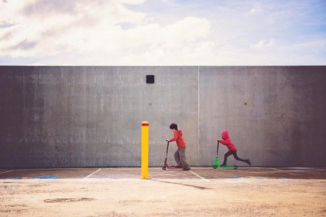 Is steppen sport of spel? Het is in ieder geval allang niet meer alleen voor kinderen