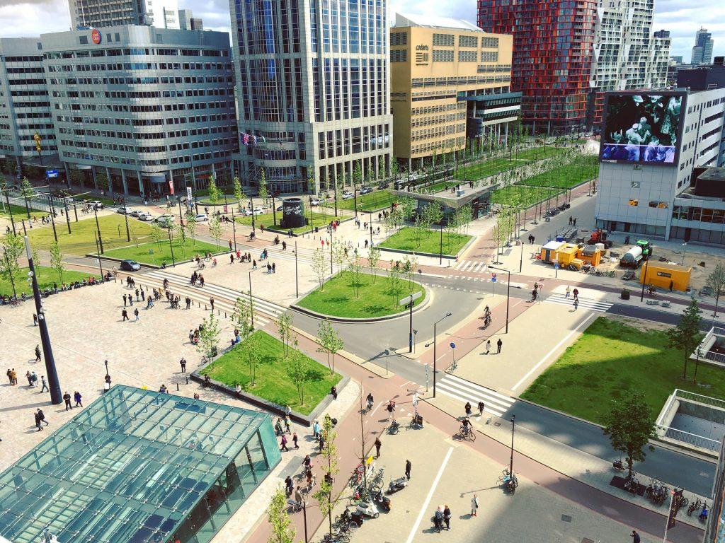 Rotterdam lijkt wel gemaakt om te steppen
