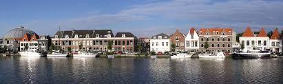 Steppen in Haarlem langs het Spaarne