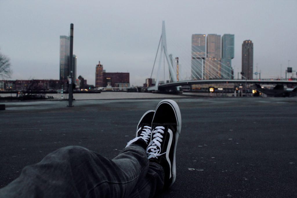 Steppen in Rotterdam is een relaxte manier om de stad te ontdekken